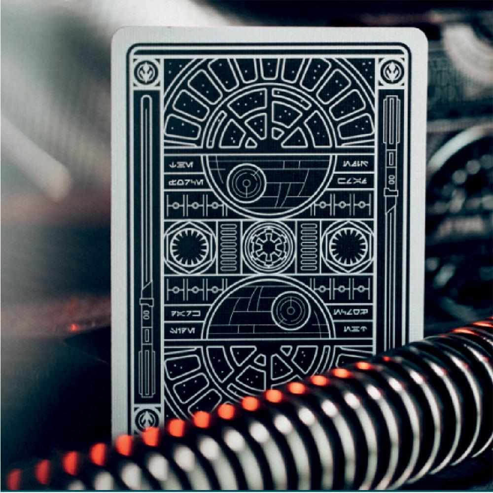 Baralho Star Wars Silver Edition Preto - Edição Especial.