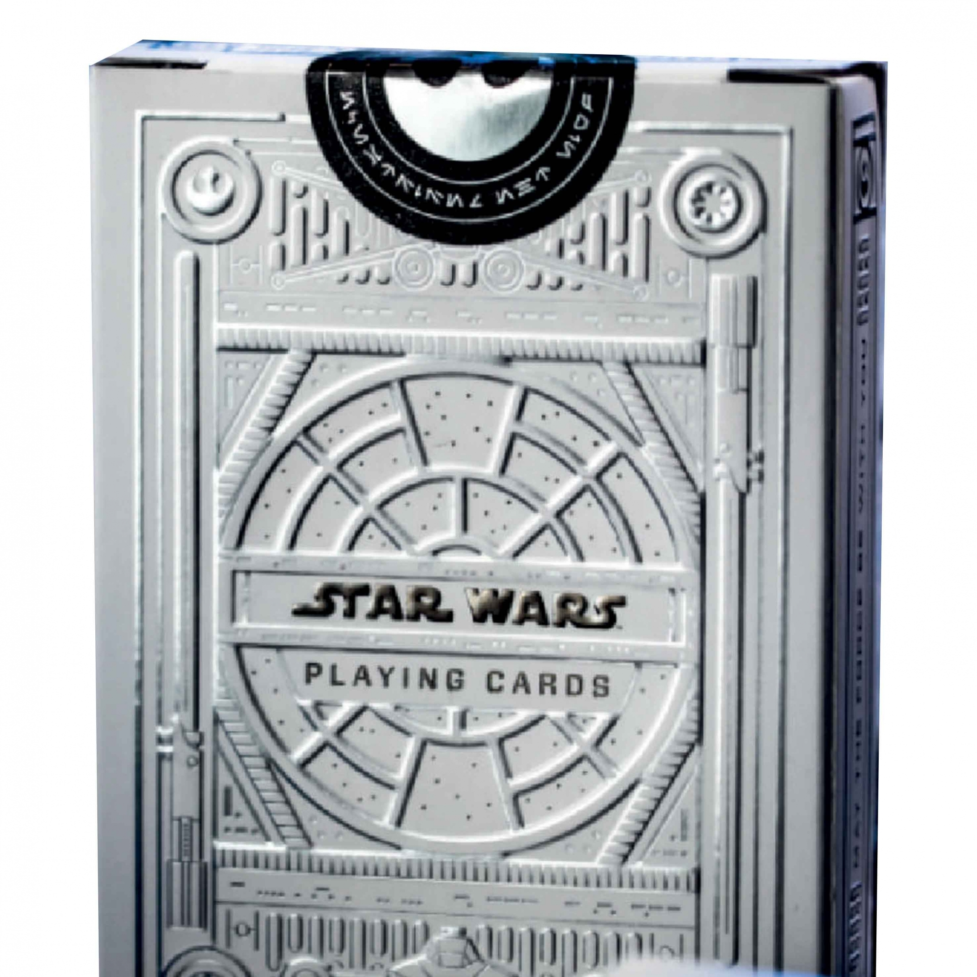 Baralho Star Wars Silver Edition White - Special Edition.