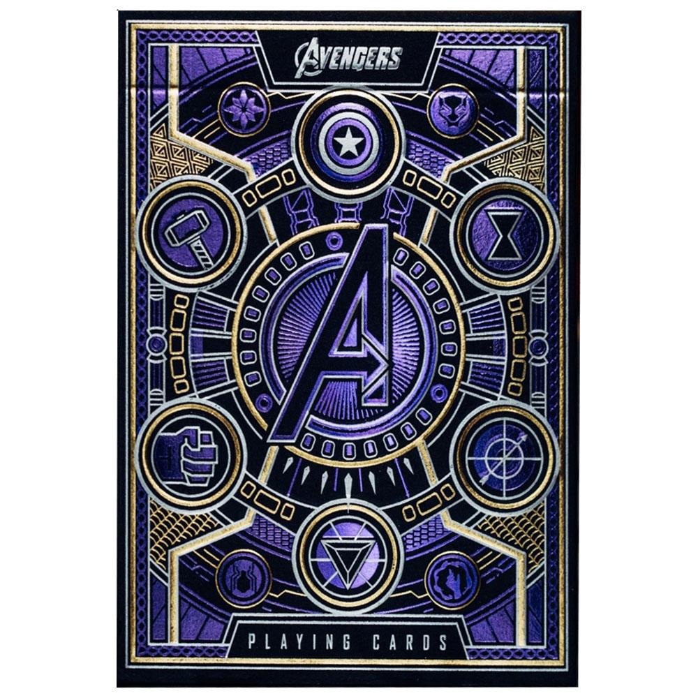 Baralho Avengers (Vingadores) - Edição Limitada