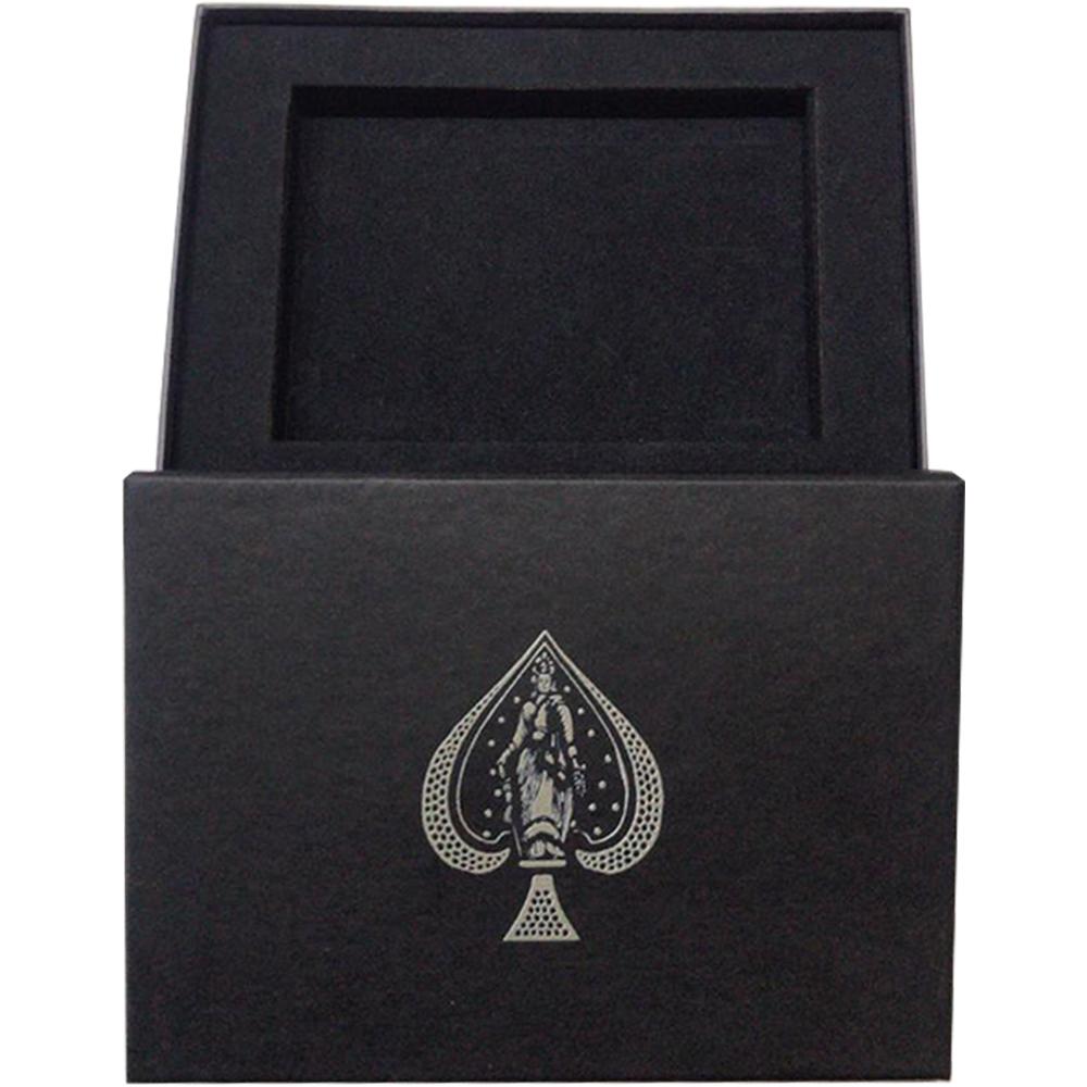 Caixa de Presente com Par de baralho Artisan Preto/Branco
