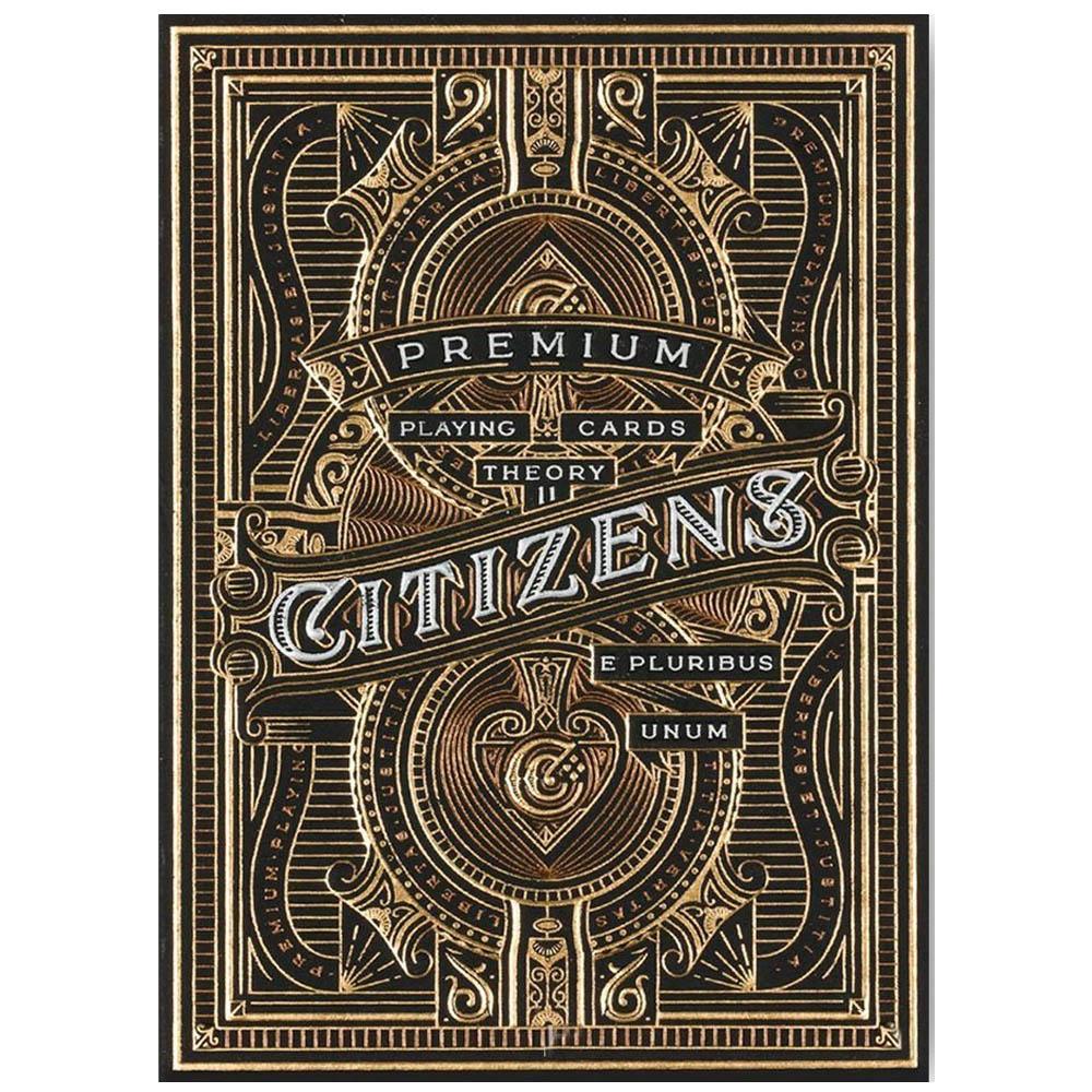 Caixa de Presente com Par de baralho Citizens/Hudson