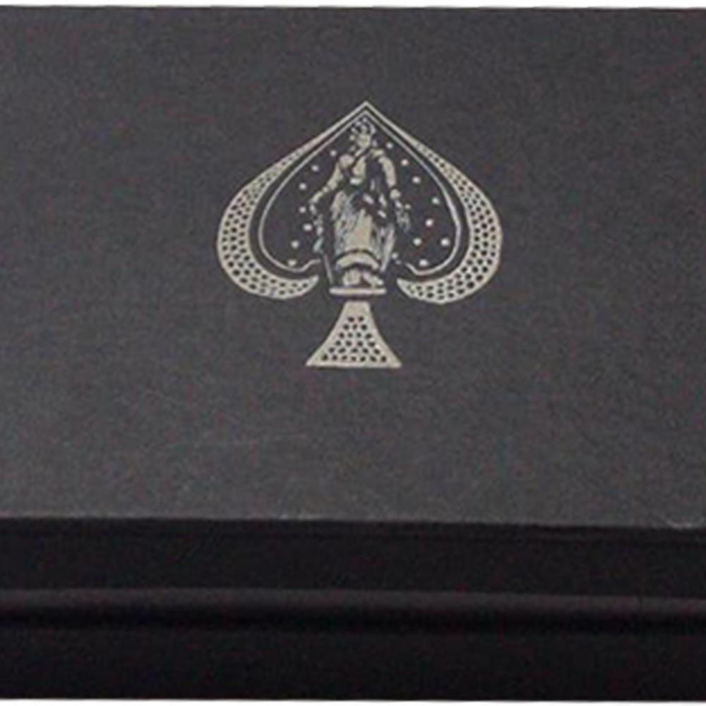 Caixa de Presente com Par de baralho Metalluxe Azul/Vermelho