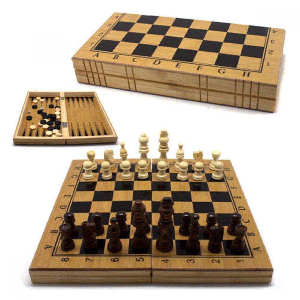 Jogo de Xadrez - Dama - Gamão