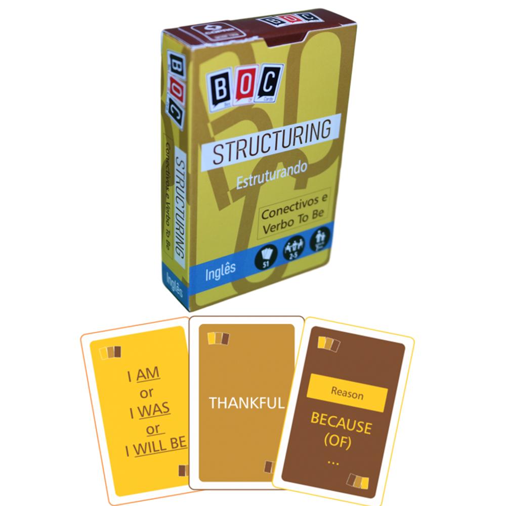Jogos de Cartas Estruturando: Conectivos
