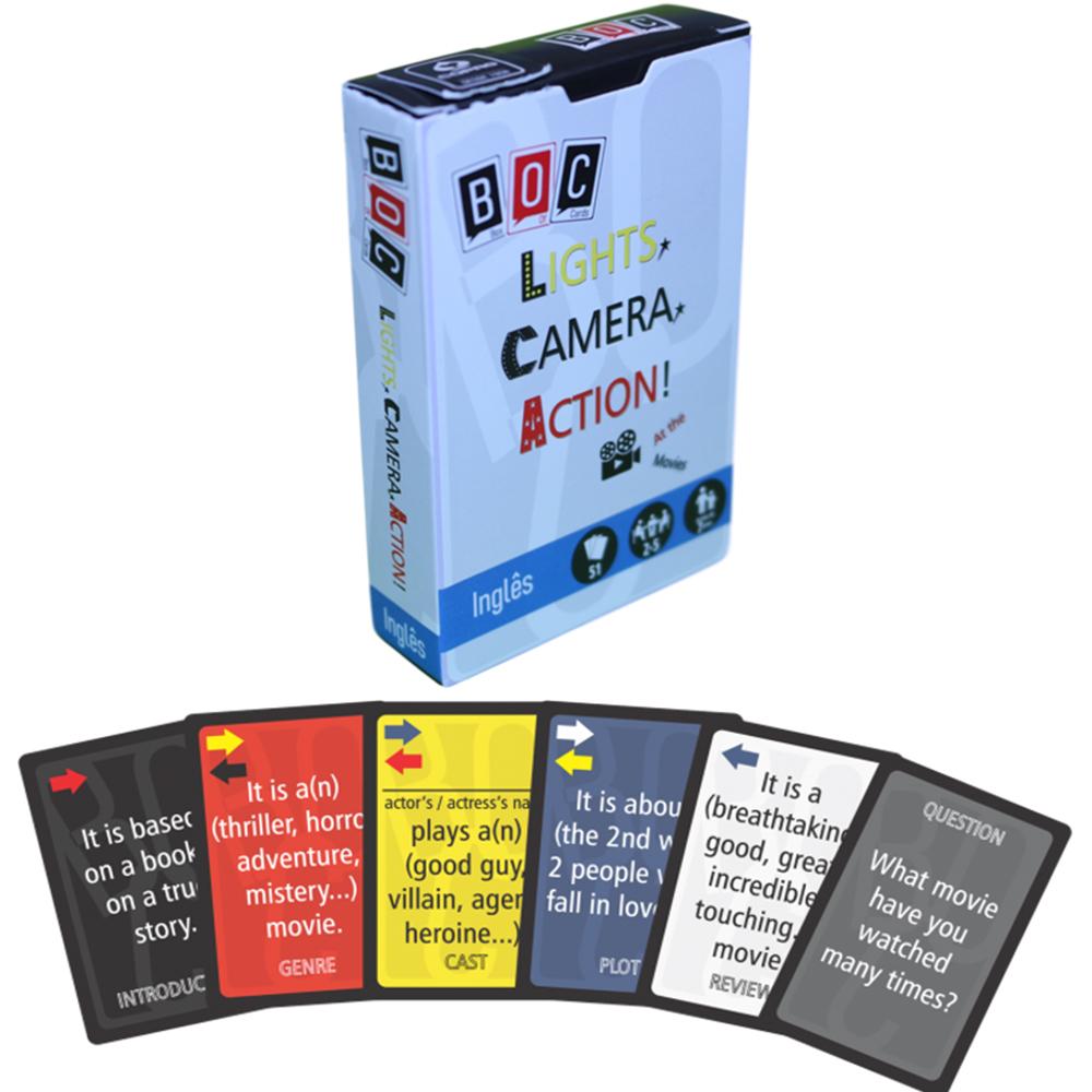 Jogos de Cartas Lights, Camera, Action!