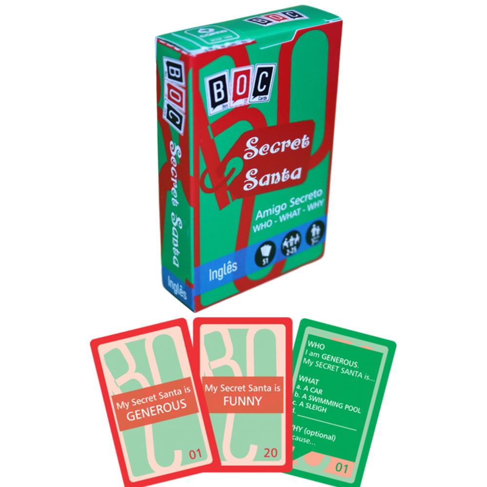 Jogos de Cartas Secret Santa