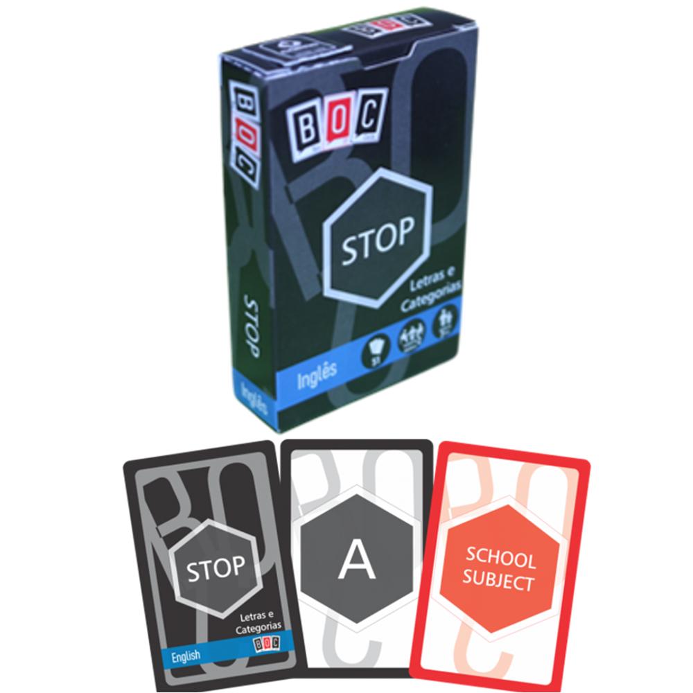Jogos de Cartas Stop