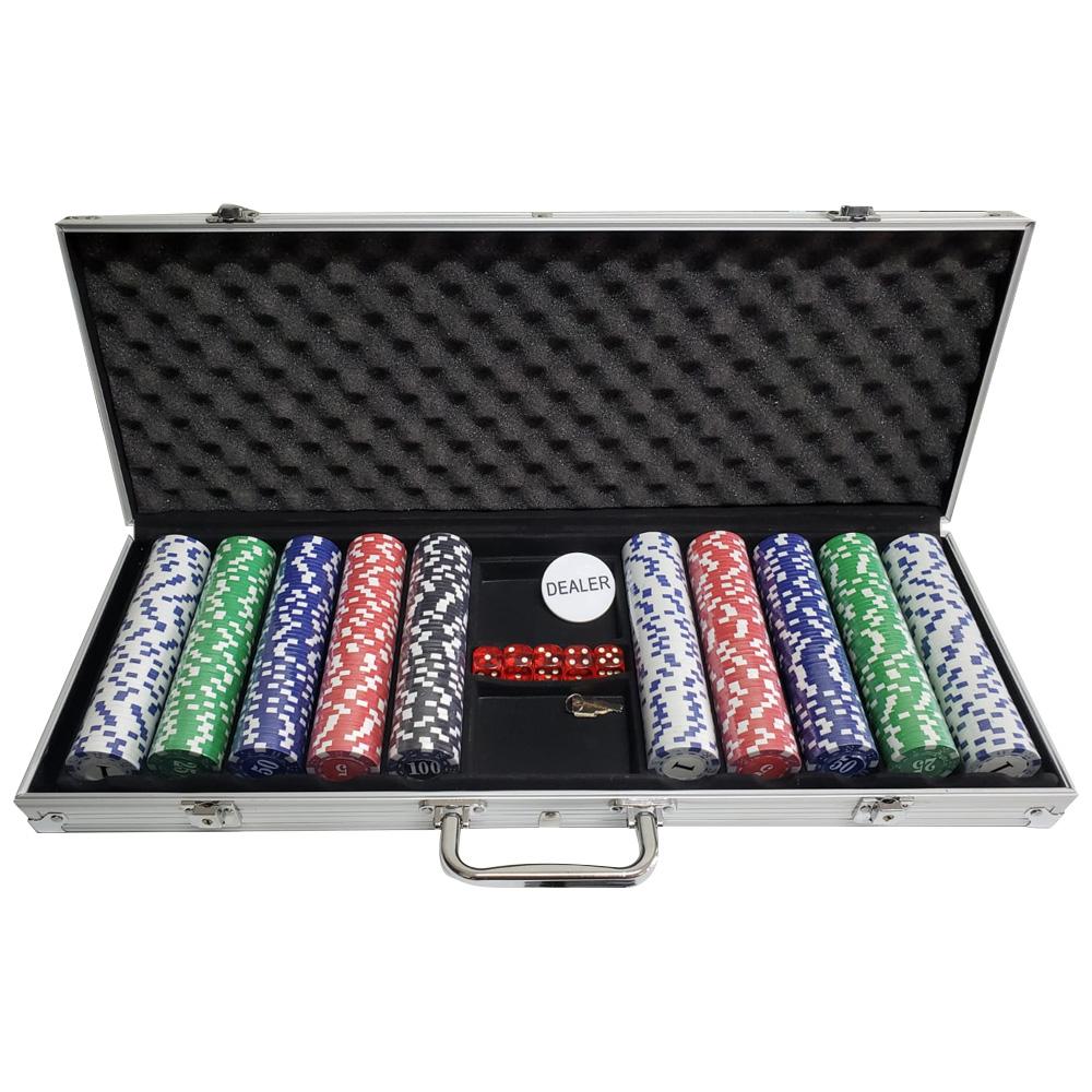 Maleta de Poker C/500 Fichas 11,5 Gr