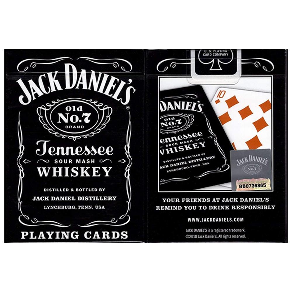 Par de Baralhos Jack Daniel's Black Whiskey / Honey