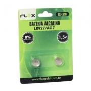 BATERIA ALCALINA CARTELA C/2 LR927/AG7 FX-LR09