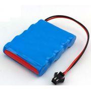 Bateria De Carrinho 6v 2500mah Ni-mh Com Conector Smp-02