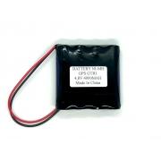 BATERIA PARA GPS GTR1 TECHGEO 4,8V 4000MAH  NI-MH
