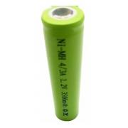 Bateria Recarregável Ni-mh 4/3a 1,2V 3500Mah