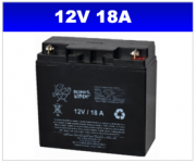 BATERIA SELADA 12V 18AH PLANET BATTERY
