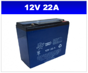 BATERIA SELADA 12v 22AH PLANET BATTERY