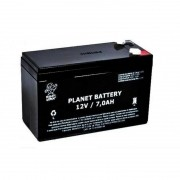 BATERIA SELADA 12V 7AH PLANET BATTERY