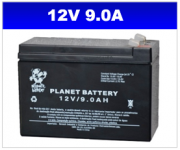 BATERIA SELADA 12V 9AH PLANET BATTERY