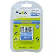 Pilha AAA Recarregável FX-AAA10LB4 - Flex