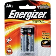 Pilha Energizer Max AA C/2 Alcalina