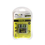 Pilha Recarregável Flex AAA Ni-Mh 630mAh Blister com 4 unidades - FX-AAA63LB4