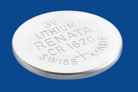 Bateria Botão CR1620 3V Lithium RENATA