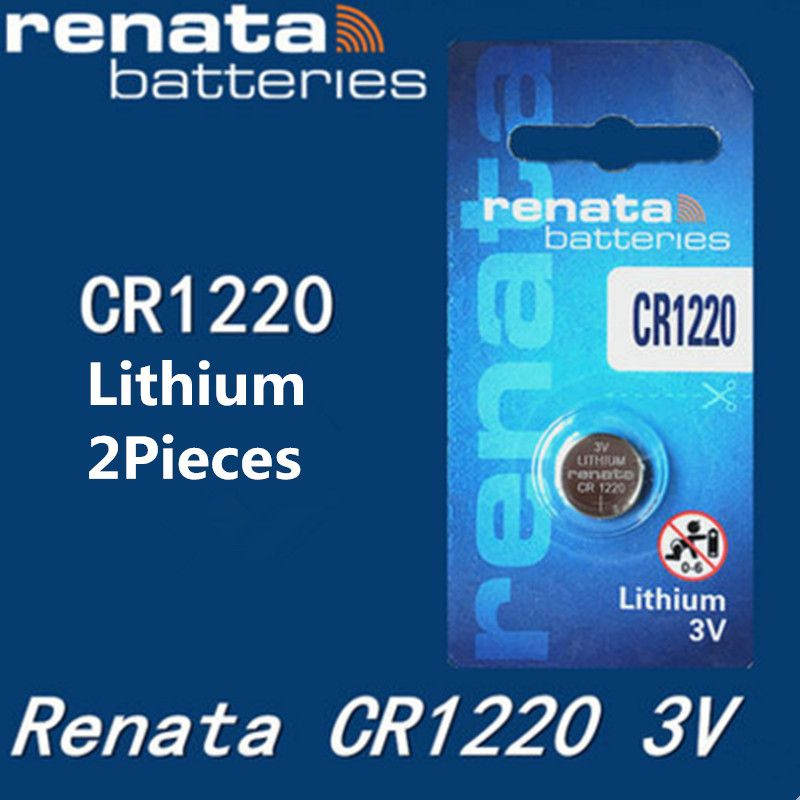 Bateria Renata Cr1220 Lithium 3v 38mah Swiss Made - Original