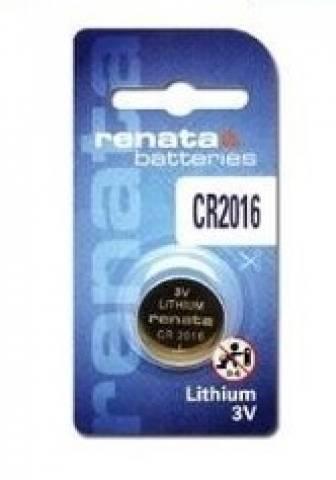 Bateria Renata Cr2016 Lithium 3v 90mah Swiss Made - Original