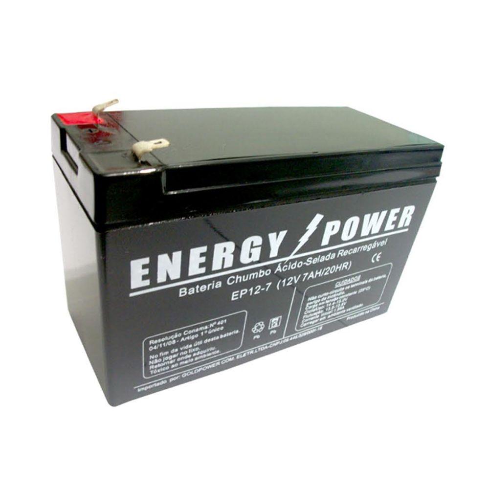 BATERIA SELADA 12V 7AH ENERGY POWER PARA NOBREAK , ALARME E BRINQUEDOS ....