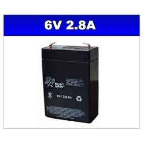BATERIA SELADA 6V 2,8AH PLANET BATTERY