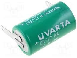 BATERIA VARTA CR14250 1/2AA 3V LITHIUM COM 2 TERMINAIS