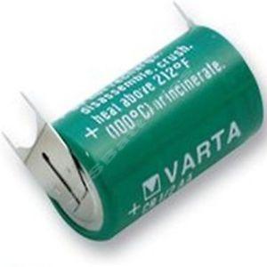 BATERIA VARTA CR14250 1/2AA 3V LITHIUM COM 3 TERMINAIS
