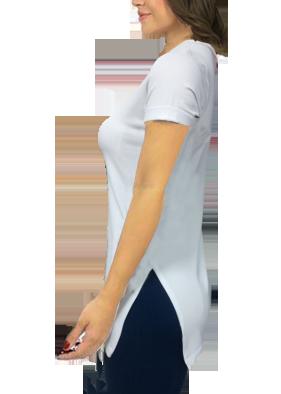 ec58802b24 Blusa feminina com ponta cavalo arvore