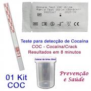 01 Kit para teste de COC-CRACK
