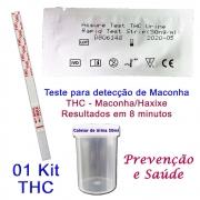 01 Kit para teste de THC