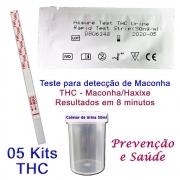 05 Kits para testes de THC