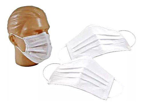 Máscara Descartável Cirúrgica Anti Coronavírus 20 Unidades  - Loja Saúde - Produtos Naturais