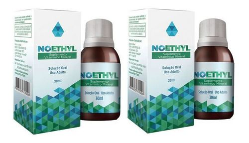 Noethyl Solução Anti-álcool - Kit com 2 Frascos  - Loja Saúde -Diagnósticos