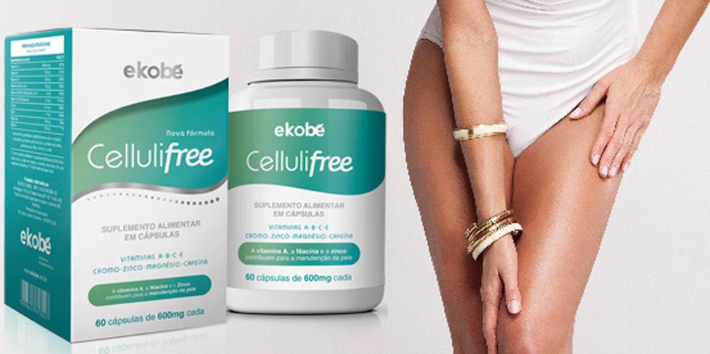 2 CELLULIFREE ANTI CELULITE  - Loja Saúde - Produtos Naturais