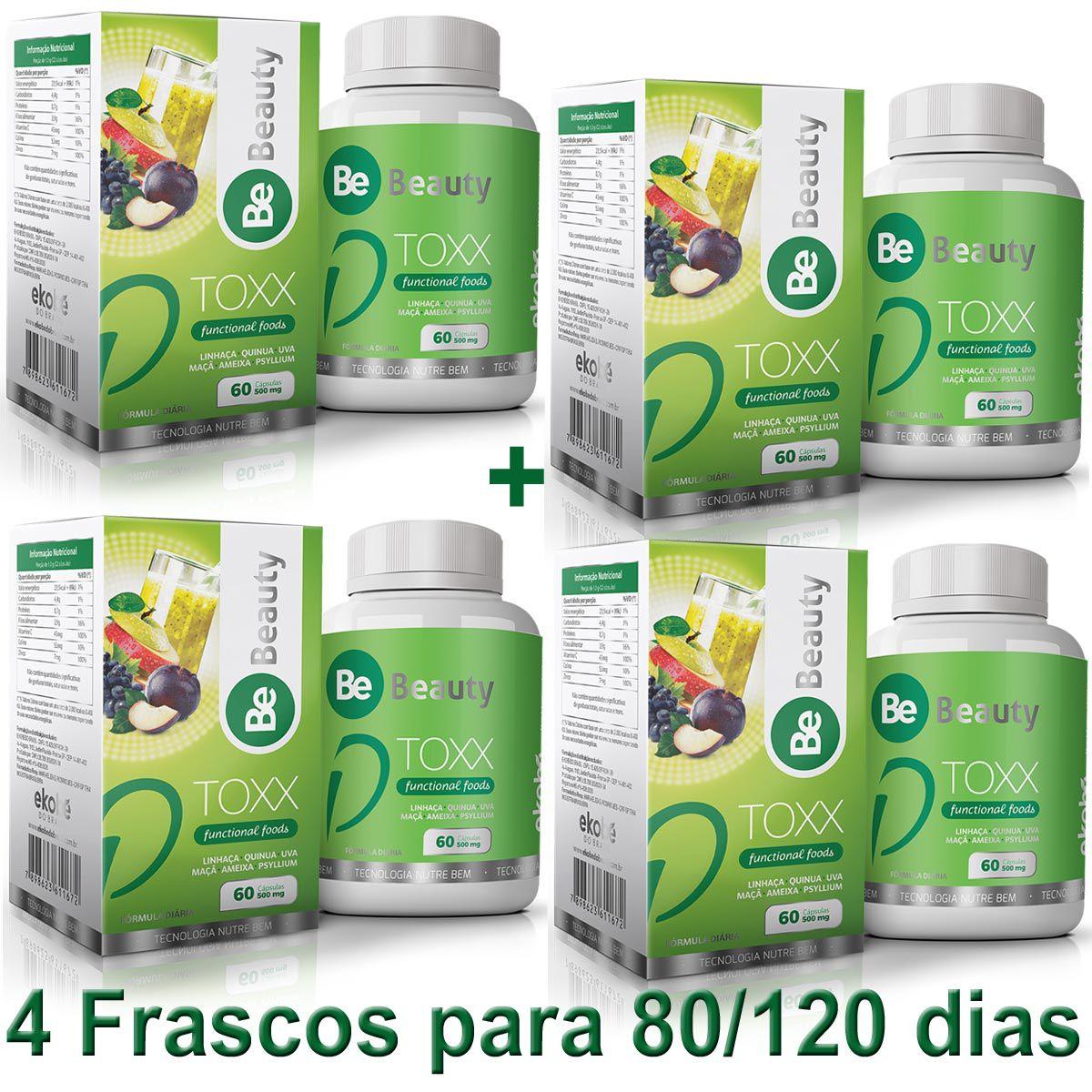 D TOXX 4 FRASCOS  - Loja Saúde - Produtos Naturais