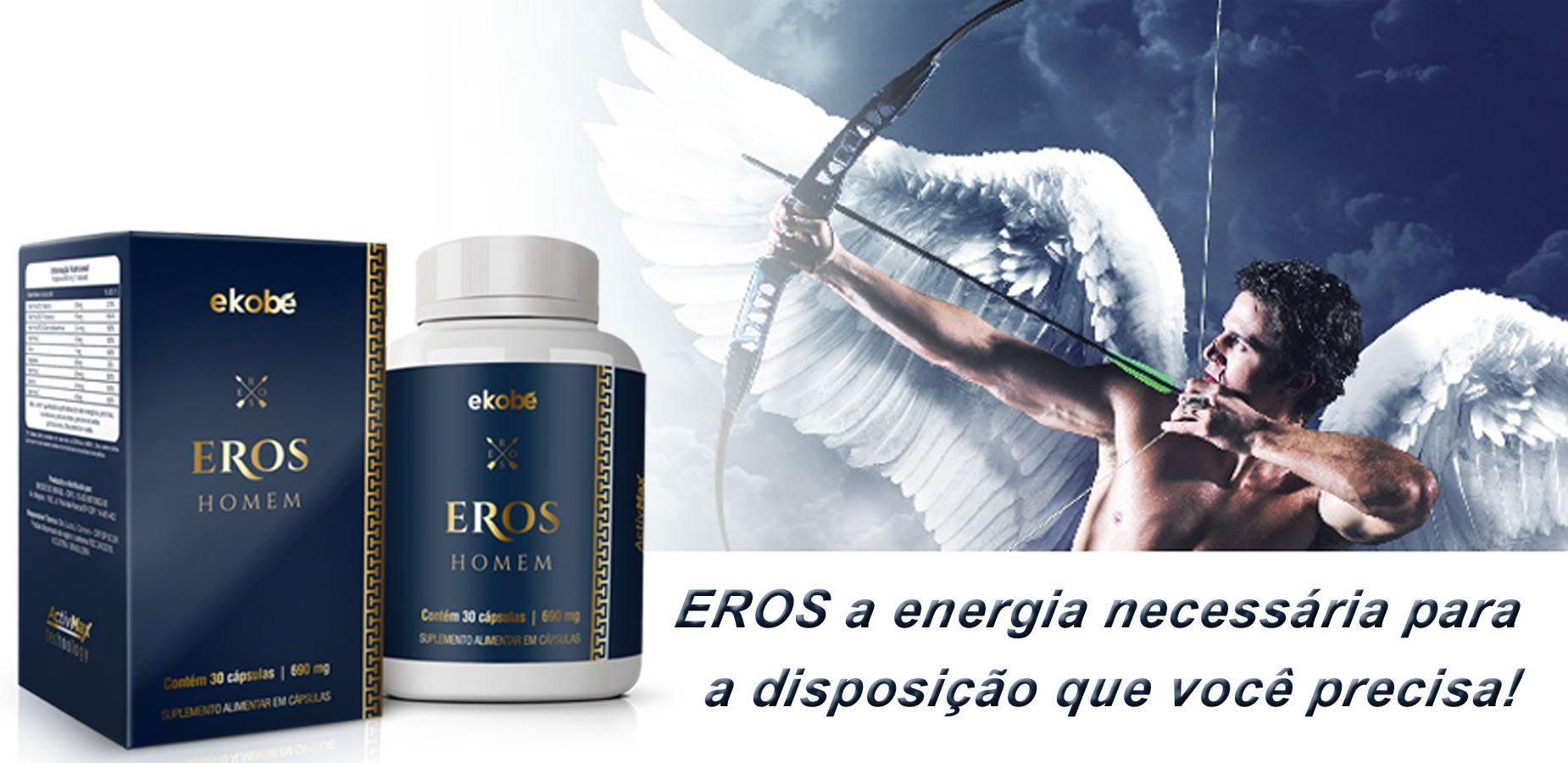 Estimulante Eros Homem 02 Unidades  - Loja Saúde -Diagnósticos