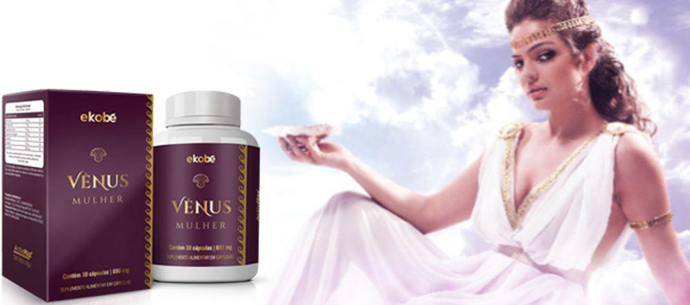 Estimulante Venus Mulher 03 Unidades  - Loja Saúde - Diagnósticos e Produtos Naturais