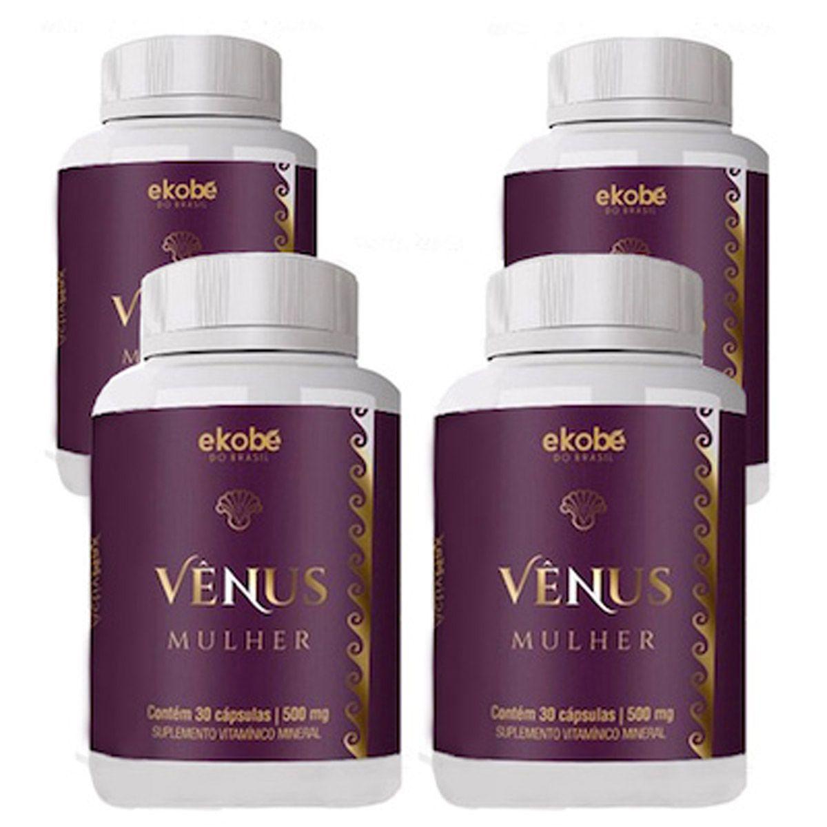 Estimulante Venus Mulher 04 Unidades  - Loja Saúde - Diagnósticos e Produtos Naturais