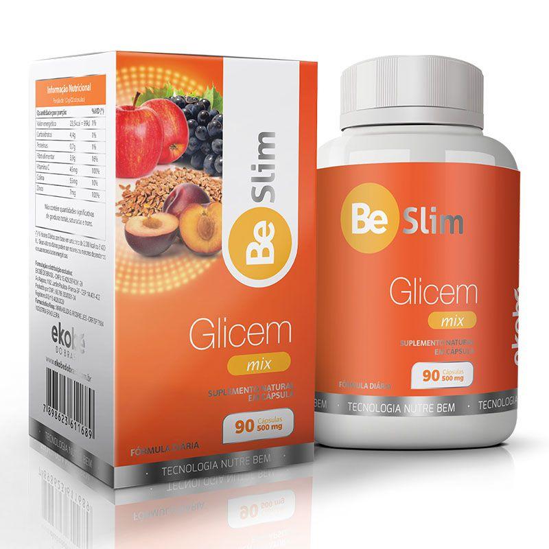 GLICEM MIX  - Loja Saúde - Produtos Naturais