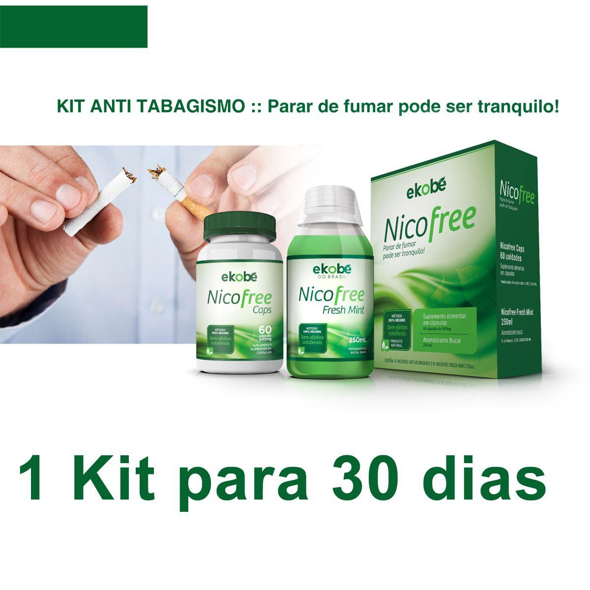 KIT NICOFREE  - Loja Saúde - Produtos Naturais