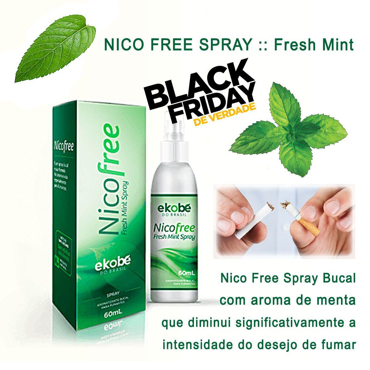 NICOFREE SPRAY  - Loja Saúde - Produtos Naturais