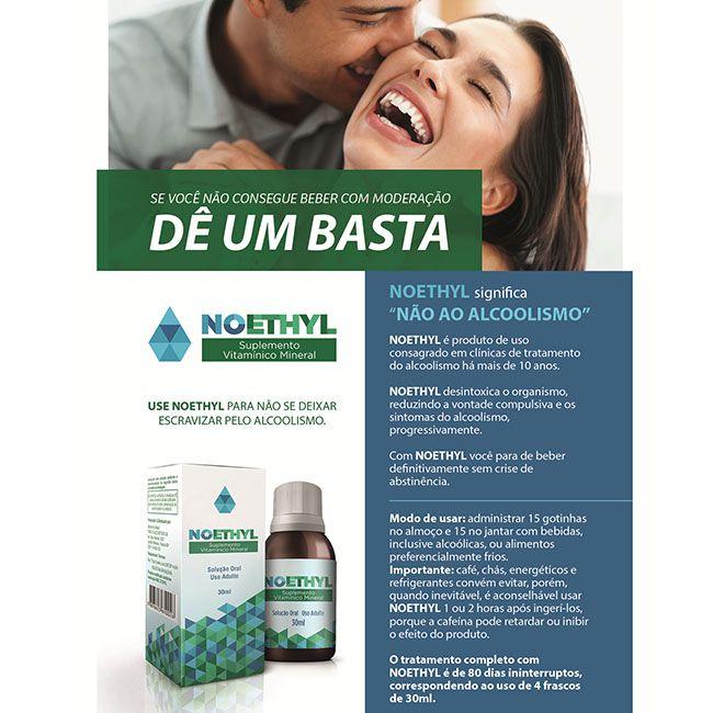 NOETHYL SOLUÇÃO - KIT 04 FRASCOS  - Loja Saúde - Produtos Naturais