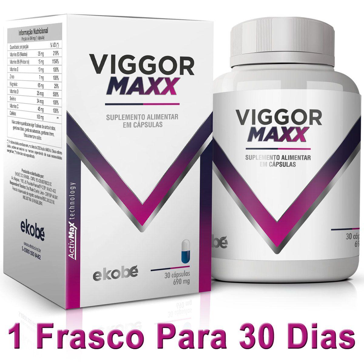 VIGGOR MAXX  - Loja Saúde - Produtos Naturais