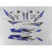 Kit Adesivos Yamaha Lander 250 2011 Azul 10362