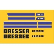 Kit Adesivos Dresser R835