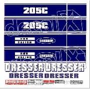 Kit Adesivos Dresser Ds205